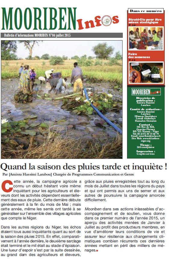 Mooriben Infos n°4 - juillet 2015