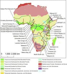 "Estimating the Environmental Costs of Africa's Massive ""Development Corridors"""