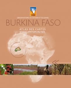 Atlas pays des cartes d'occupation du sol : Burkina Faso et Mauritanie