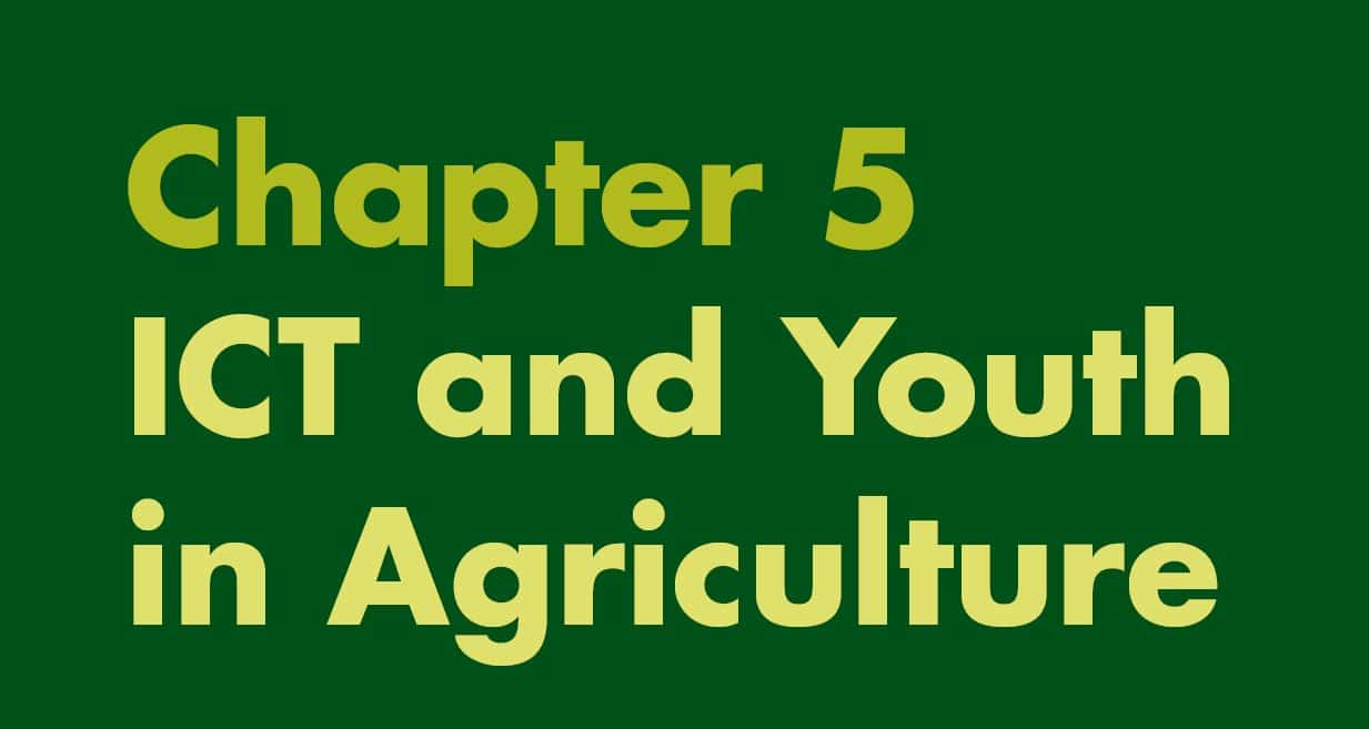 ICT and Youth in Agriculture in Africa