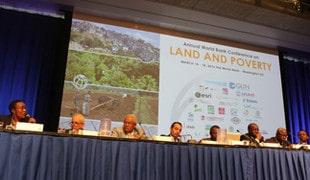 LeBMZ/GIZ à la conférence de la Banque mondiale « Les terres et la pauvreté, 2016 »