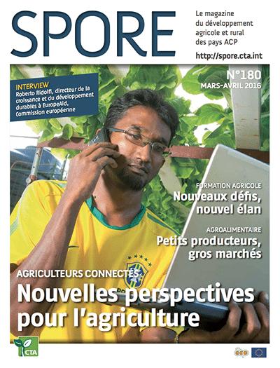 Magazine Spore - Agriculteurs connectés : Nouvelles perspectives pour l'agriculture