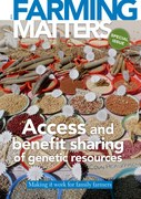 Access and benefit sharing of genetic resources: Making it work for family farmers