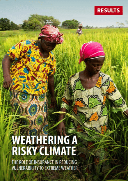 Weathering a Risky Climate: the role of insurance in reducing vulnerability to extreme weather