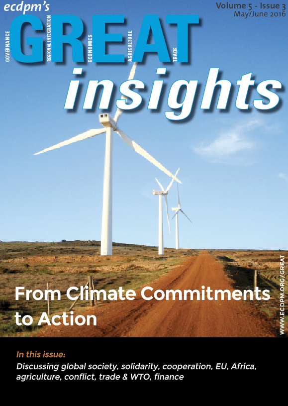 Great Insights:  From climate commitments to action