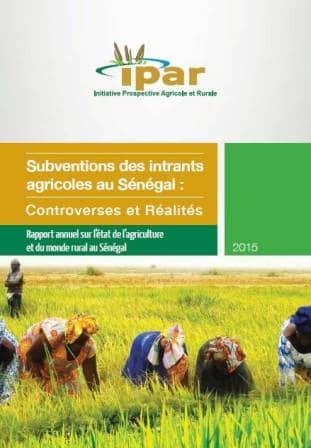 Subventions des intrants agricoles au Sénégal : Controverses et Réalités