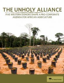 """Cinq bailleurs occidentaux façonnent un agenda """"pro-business"""" pour l'agriculture africaine"""