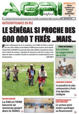 Agri-Infos n°93 (juin 2016)