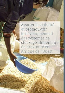 Ensuring the Viability of Local Food Storage Systems in West Africa and Promoting their Growth
