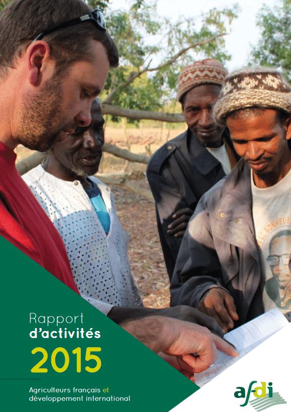 Afdi : Rapport d'activités 2015