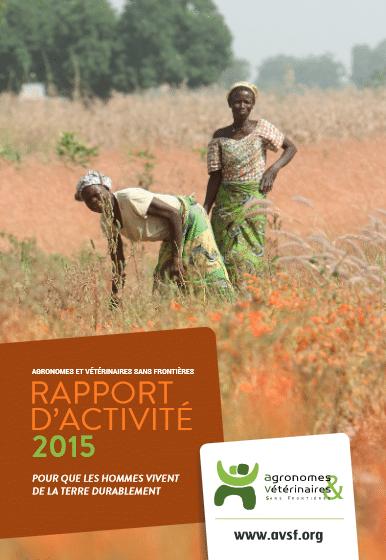 AVSF : Rapport d'activités 2015