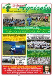 Le journal agricole n°33 (septembre 2016)