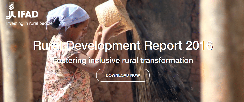IFAD's Rural Development Report 2016