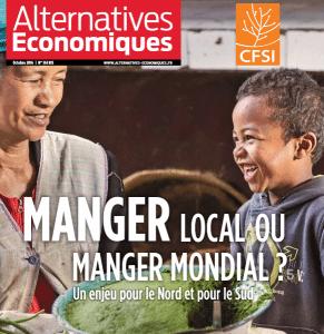 Alternatives économiques : Manger local ou manger mondial ?