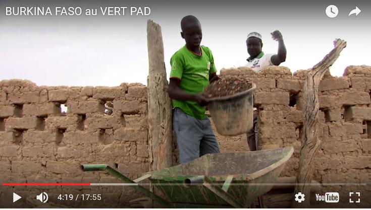 Vidéo : Burkina Faso au vert