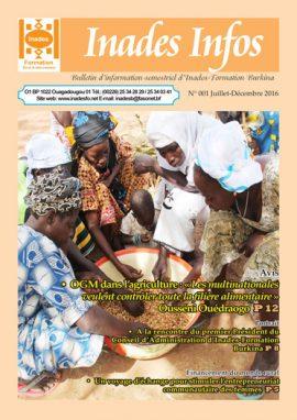 Bulletin d'information d'Inades-Formation Burkina