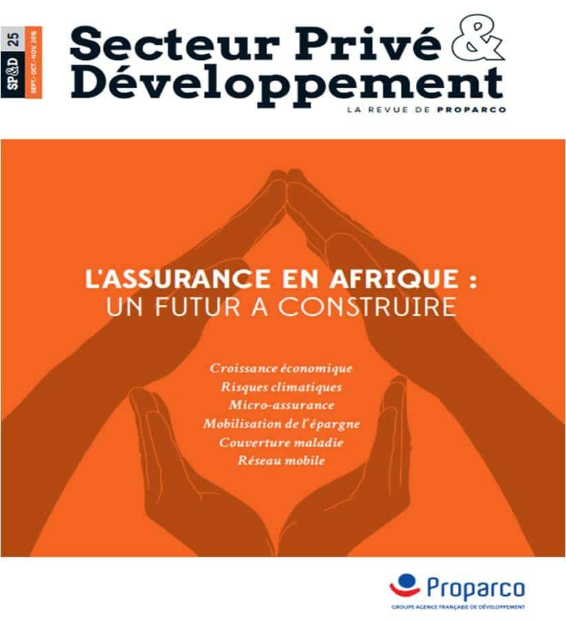 Secteur Privé & Développement n°25 :  L'assurance en Afrique subsaharienne,  un futur à construire
