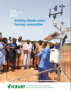 ICRISAT: Building climate smart villages