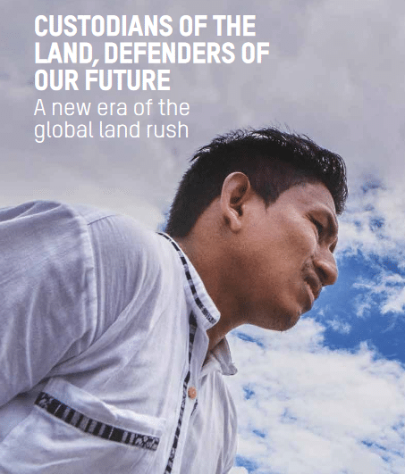 Custodians of the  land, defenders of  our future: A new era of the  global land rush