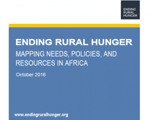 Ending rural hunger: mapping needs