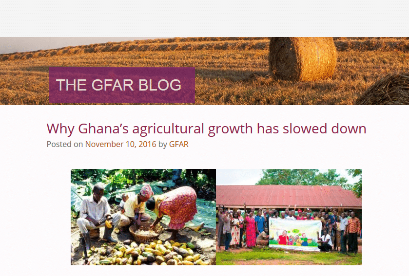 Why Ghana's agricultural growth has slowed down