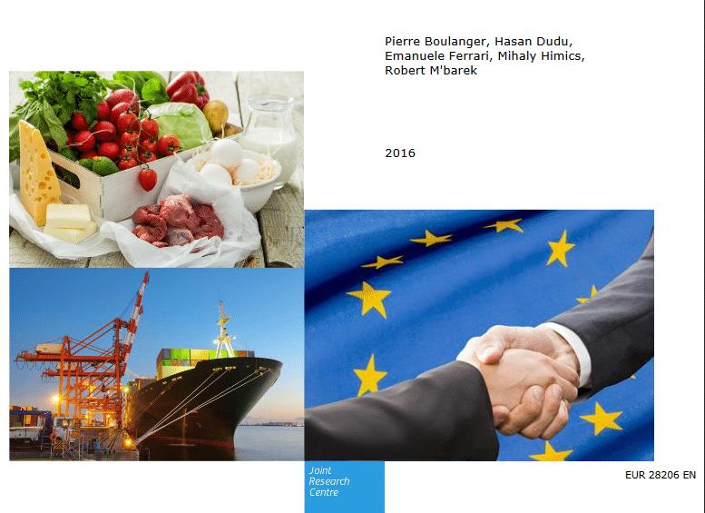 Etude sur les conséquences des futurs accords commerciaux pour le secteur agricole