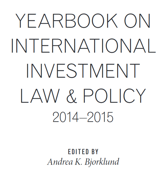 Land grabbing and international law investment: toward a global reconfiguration of property?