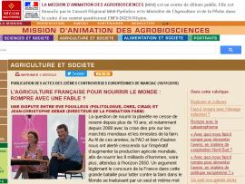 L'agriculture française pour nourrir le monde: rompre avec une fable?