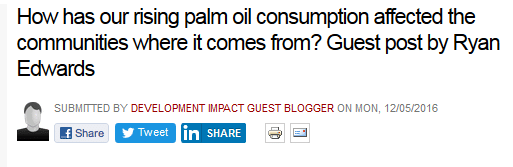 How has our rising palm oil consumption affected the communities where it comes from?