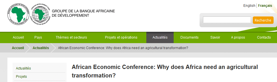 11th African Economic Conference (AEC): second day  (6 December 2016)