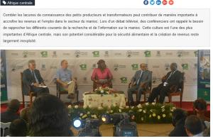 Promouvoir le partage des connaissances au sujet du manioc