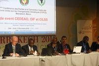Echos de la COP 22 à Marrakech : les institutions régionales réitèrent leur appel pour la mise en oeuvre de l'accord de Paris sur le climat