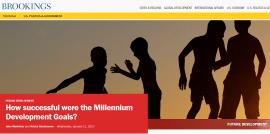 How successful were the Millennium Development Goals?