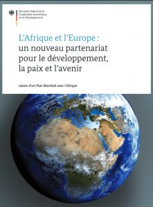 Rapport: L'Afrique et l'Europe :  un nouveau partenariat  pour le développement