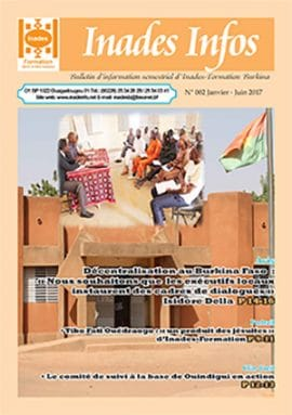 Bulletin d'information d'Inades-Formation Burkina n°2