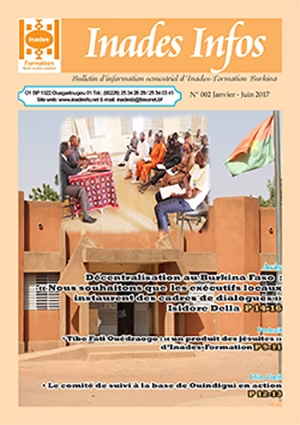 Bulletin d'information d'Inades-Formation Burkina n°2
