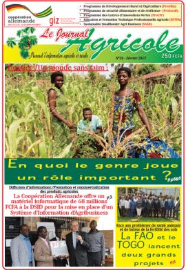 Le journal agricole N°36 - Février 2017