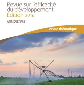 L'action de la Banque africaine de développement dans le domaine de l'agriculture : rapport 2016