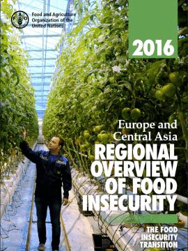 Rapport de la FAO: Aperçu régional de l'insécurité alimentaire en Europe et Asie centrale
