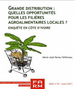 Note de Farm : Grande distribution : quelles opportunités pour les filières agroalimentaires locales ? Enquête en Côte d'Ivoire