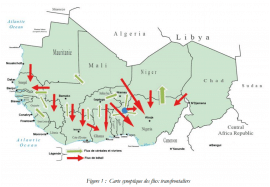 Flux transfrontaliers de produits agricoles et d'élevage au Sahel et en Afrique de l'Ouest - Janvier 2017