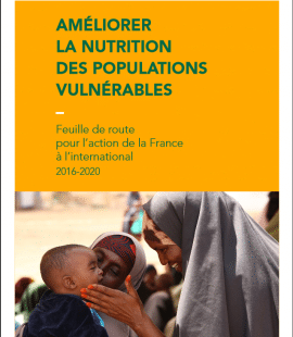 Nutrition des populations vulnérables : Feuille de route pour l'action de la France à l'international