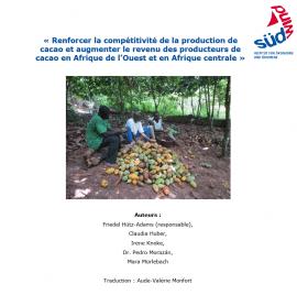 Production de cacao et revenu des producteurs de cacao en Afrique de l'Ouest et en Afrique centrale