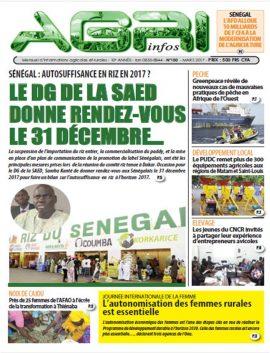 Agri infos n°100 - Mars 2017