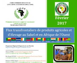 Bulletin de février 2017 sur les flux agricoles en Afrique de l'Ouest