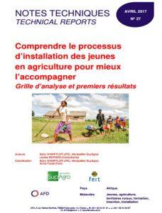 Notes techniques n°27 : Comprendre le processus d'installation des jeunes en agriculture pour mieux l'accompagner