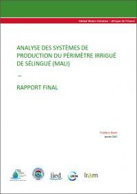 GWI : Analyse des systèmes de production du périmètre irrigué de Sélingué (Mali)