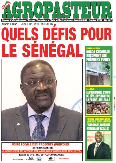 Journal agropasteur n°29 - Mai 2017