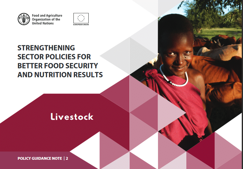 FAO Report : Strengthening sector policies for better food security and nutrition results - Livestock