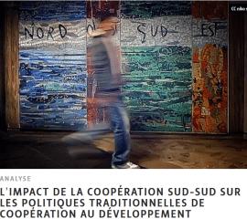 Note d'analyse: l'impact de la coopération Sud-Sud sur les politiques traditionnelles de coopération au développement